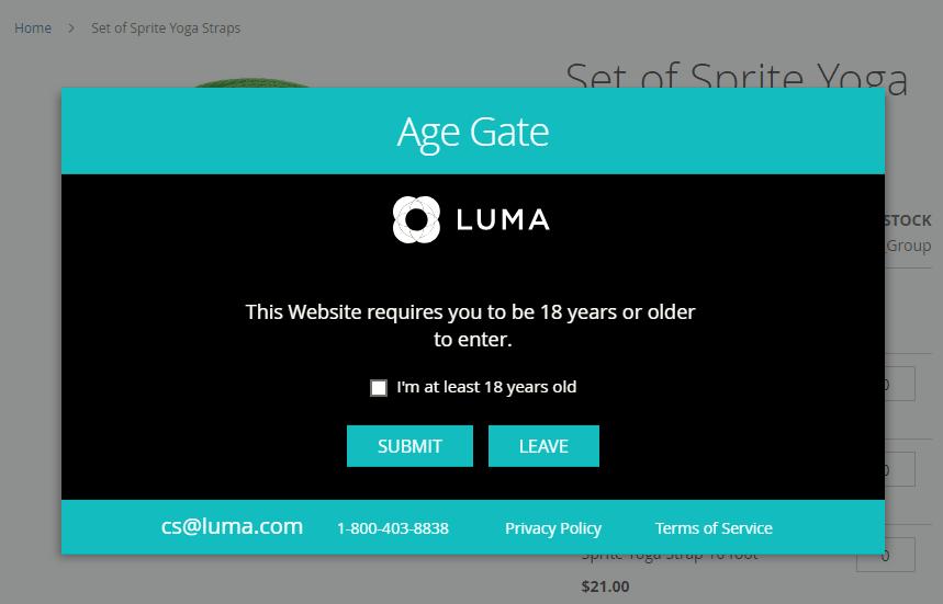 Verify by the checkbox option