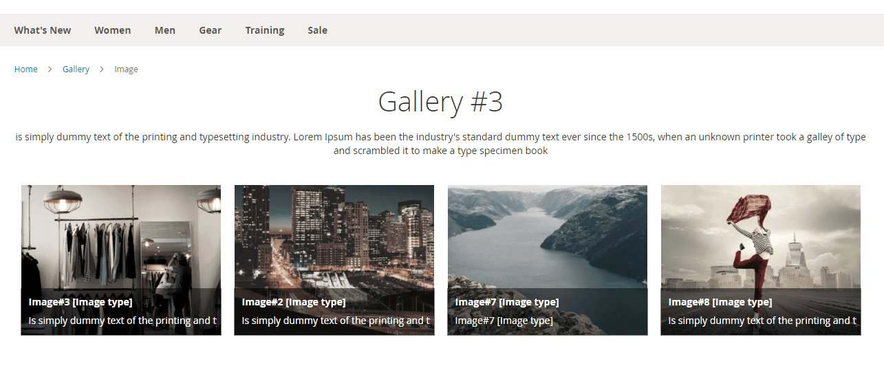 All images assigned to a gallery