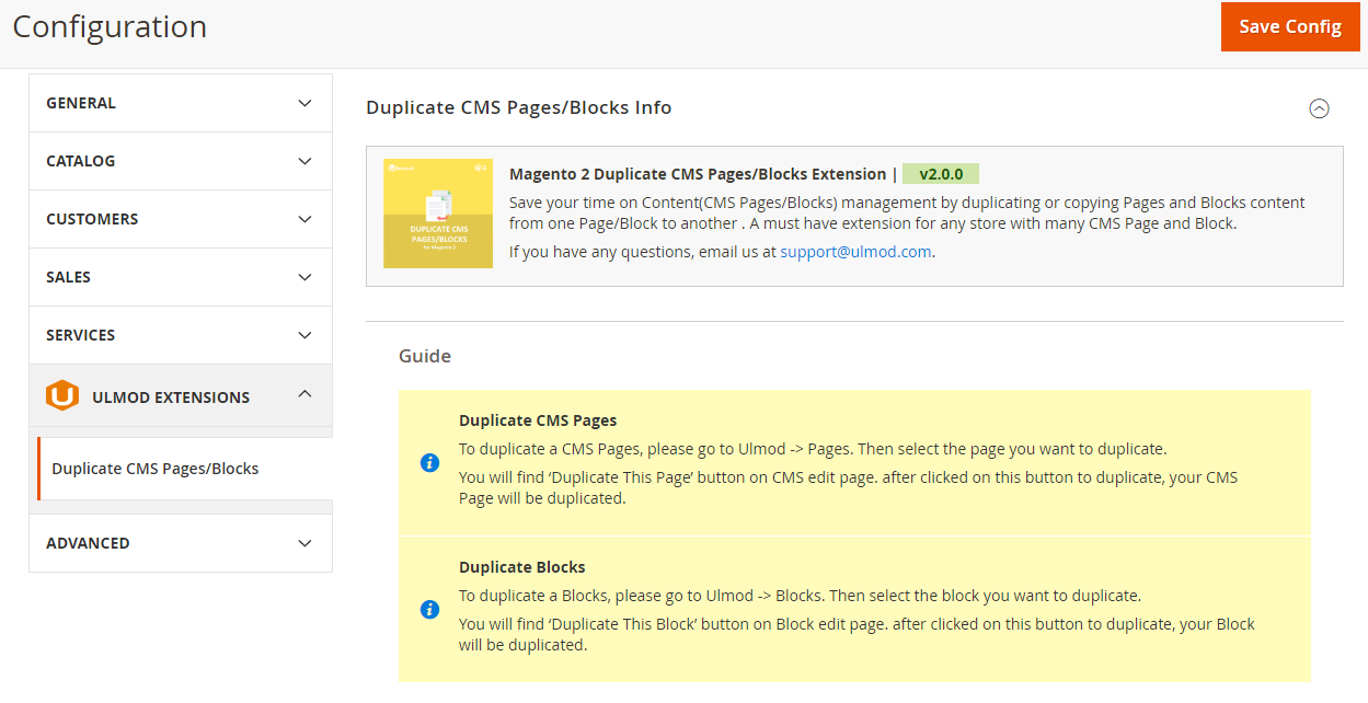 Duplicate pages and blocks guide