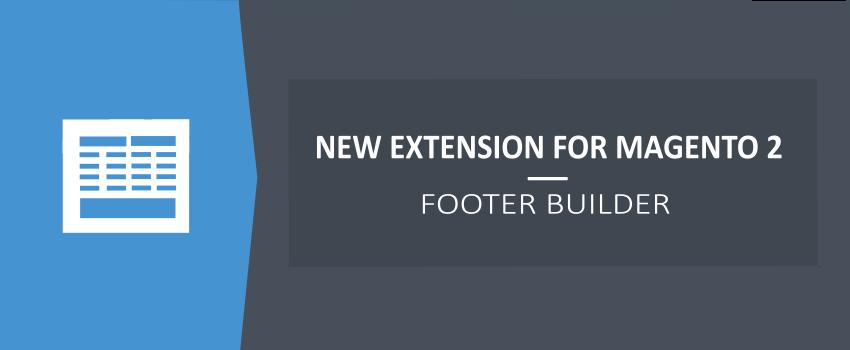 Magento 2 Custom Footer Extension