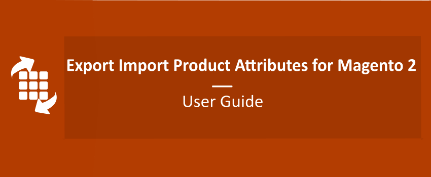 Export Import Product Attributes